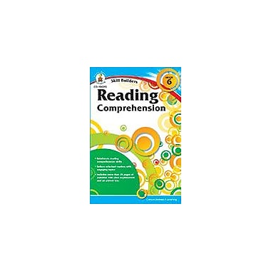 Carson-Dellosa Publishing Reading Comprehension, Grade 6 Workbook, ISBN #9781483819860 [eBook]