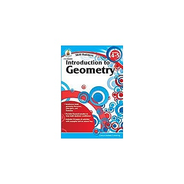 Carson-Dellosa Publishing Introduction To Geometry, Grades 4 - 5 Workbook, Grade 4 - Grade 5 [eBook]