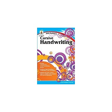 Carson-Dellosa Publishing Cursive Handwriting, Grades 3 - 5 Workbook, Grade 3 - Grade 5 [eBook]