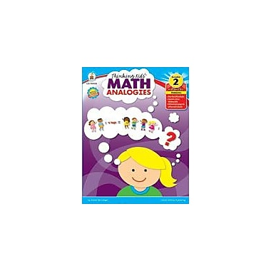 Carson-Dellosa Publishing Thinking Kids Math Analogies, Grade 2 Workbook By Mccreight, Robert, Grade 2 [eBook]