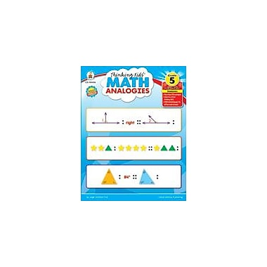 Carson-Dellosa Publishing Thinking Kids Math Analogies, Grade 5 Workbook By Cox, Leigh Morrison, Grade 5 [eBook]