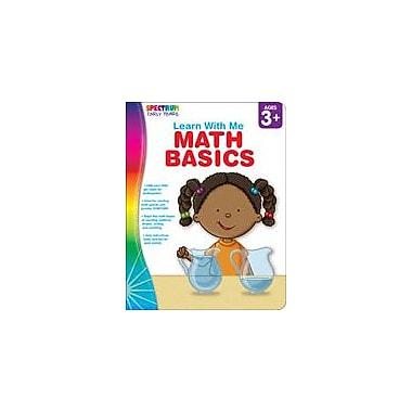 Carson-Dellosa Publishing Spectrum Early Years Learn With Me: Math Basics Workbook, Preschool - Kindergarten [eBook]