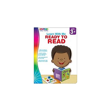 Carson-Dellosa Publishing Spectrum Early Years Learn With Me: Ready To Read Workbook, Preschool - Kindergarten [eBook]