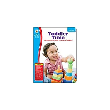 Carson-Dellosa Publishing Toddler Time Workbook, Preschool [eBook]