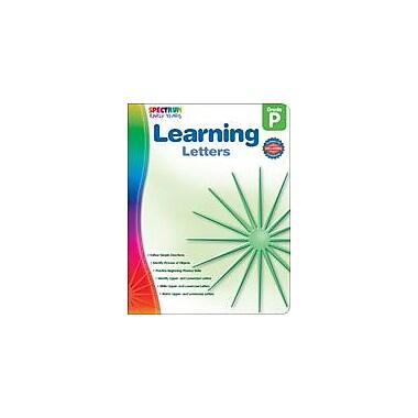Carson-Dellosa Publishing Spectrum Early Years: Learning Letters Workbook, Preschool [eBook]