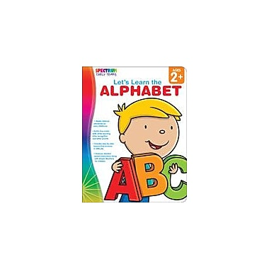 Carson-Dellosa Publishing Spectrum Early Years: Let's Learn The Alphabet Workbook, Preschool [eBook]
