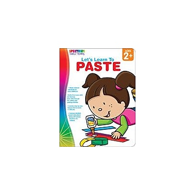 Carson-Dellosa Publishing Spectrum Early Years: Let's Learn To Paste Workbook, Preschool [eBook]