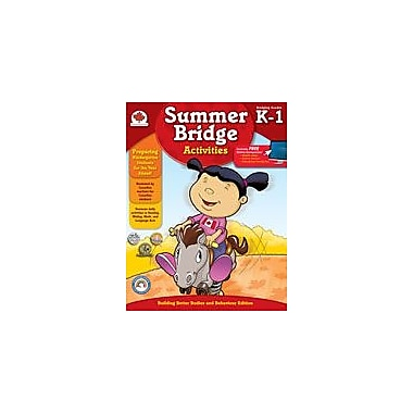 Carson-Dellosa Publishing Summer Bridge Activities, Grades K-1 Workbook, Kindergarten - Grade 1 [eBook]