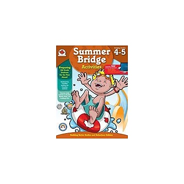 Carson-Dellosa Publishing Summer Bridge Activities, Grades 4-5 Workbook By Summer Bridge Activities, Grade 4 - Grade 5 [eBook]