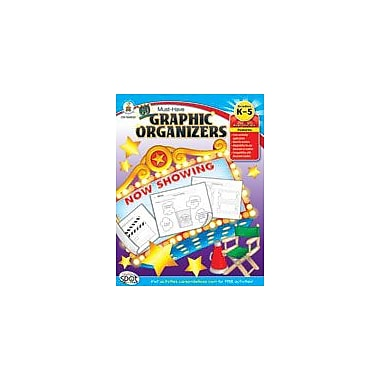 Carson-Dellosa Publishing 60 Must-Have Graphic Organizers Workbook By Baggette, Ginger, Kindergarten - Grade 5 [eBook]
