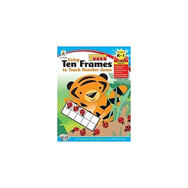Carson-Dellosa Publishing Using Ten Frames To Teach Number Sense Workbook, Kindergarten - Grade 1 [eBook]