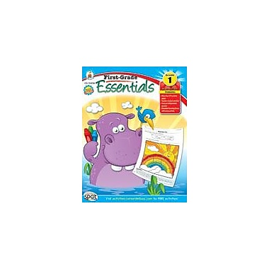 Carson-Dellosa Publishing First-Grade Essentials Workbook, Grade 1 [eBook]