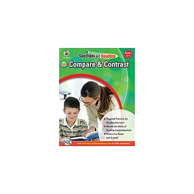 Carson-Dellosa Publishing Compare And Contrast: Grades 3-4 Workbook, Grade 3 - Grade 4 [eBook]