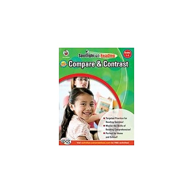 Carson-Dellosa Publishing Compare And Contrast: Grades 1-2 Workbook, Grade 1 - Grade 2 [eBook]