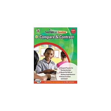 Carson-Dellosa Publishing Compare And Contrast: Grades 5-6 Workbook, Grade 5 - Grade 6 [eBook]
