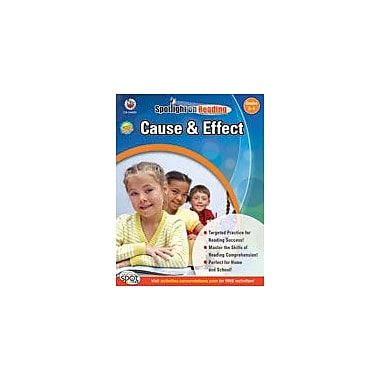 Carson-Dellosa Publishing Cause And Effect: Grades 3-4 Workbook, Grade 3 - Grade 4 [eBook]