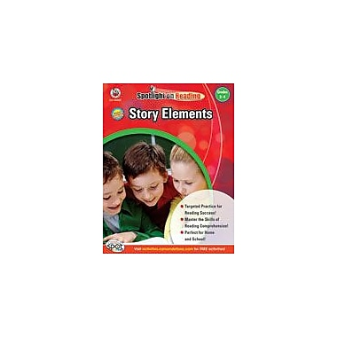 Carson-Dellosa Publishing Story Elements: Grades 3-4 Workbook, Grade 3 - Grade 4 [eBook]