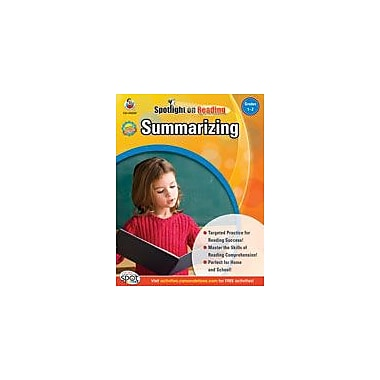 Carson-Dellosa Publishing Summarizing: Grades 1-2 Workbook, Grade 1 - Grade 2 [eBook]