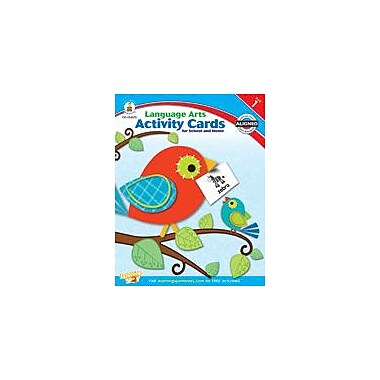 Carson-Dellosa Publishing Language Arts Activity Cards For School And Home, Grade 1 Workbook [eBook]