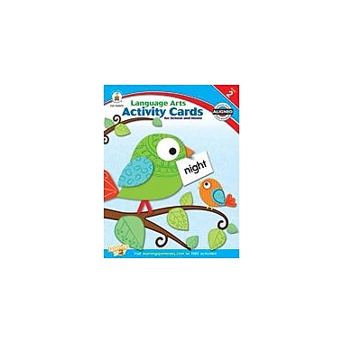Carson-Dellosa Publishing Language Arts Activity Cards For School And Home, Grade 2 Workbook [eBook]