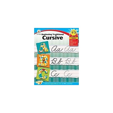 Carson-Dellosa Publishing Beginning Traditional Cursive Workbook, Grade 1 - Grade 3 [eBook]