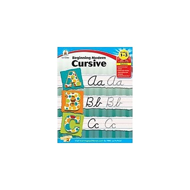 Carson-Dellosa Publishing Beginning Modern Cursive Workbook, Grade 1 - Grade 3 [eBook]