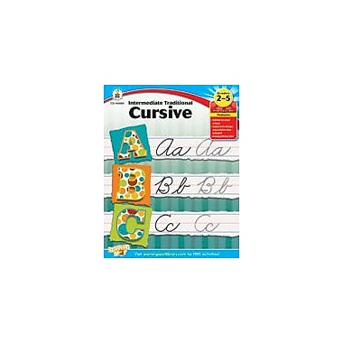 Carson-Dellosa Publishing Intermediate Traditional Cursive Workbook, Grade 2 - Grade 5 [eBook]