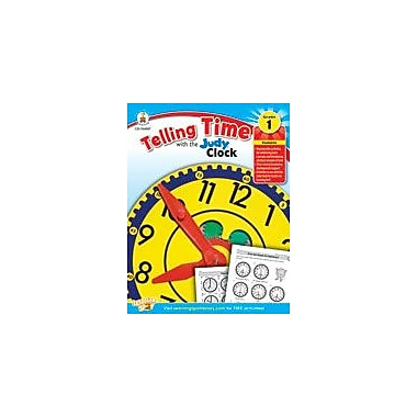 Carson-Dellosa Publishing Telling Time With The Judy Clock: Grade 1 Workbook [eBook]