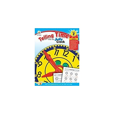 Carson-Dellosa Publishing Telling Time With The Judy Clock: Grade 2 Workbook [eBook]