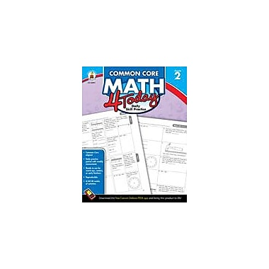 Carson-Dellosa Publishing Common Core Math 4 Today, Grade 2 Workbook By Mccarthy, Erin, Grade 2 [eBook]