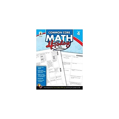 Carson-Dellosa Publishing Common Core Math 4 Today, Grade 4 Workbook By Mccarthy, Erin, Grade 4 [eBook]