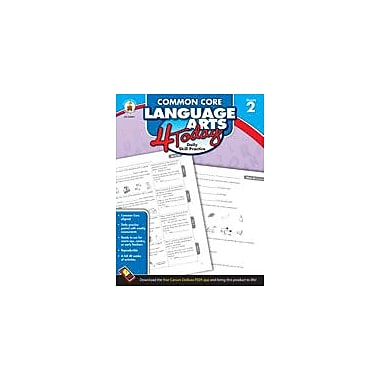 Carson-Dellosa Publishing Common Core Language Arts 4 Today, Grade 2 Workbook [eBook]