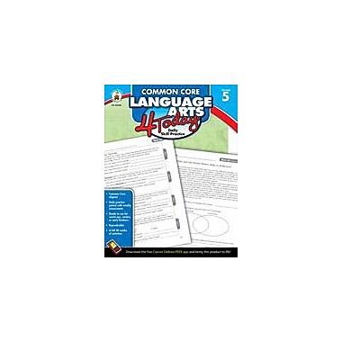Carson-Dellosa Publishing Common Core Language Arts 4 Today, Grade 5 Workbook [eBook]