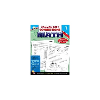 Carson-Dellosa Publishing Common Core Connections Math: Grade 1 Workbook [eBook]