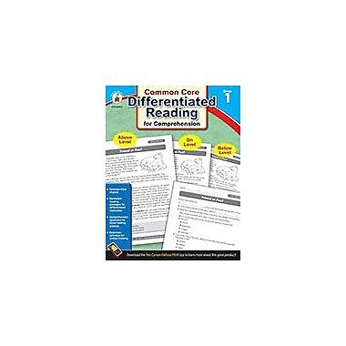 Carson-Dellosa Publishing Differentiated Reading For Comprehension, Grade 1 Workbook [eBook]