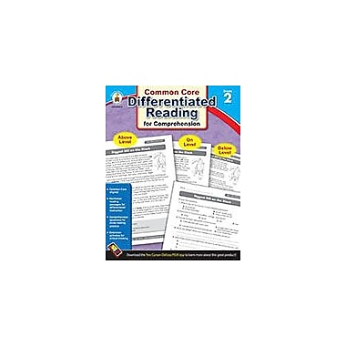 Carson-Dellosa Publishing Differentiated Reading For Comprehension, Grade 2 Workbook [eBook]