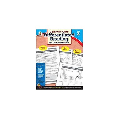 Carson-Dellosa Publishing Differentiated Reading For Comprehension, Grade 3 Workbook [eBook]