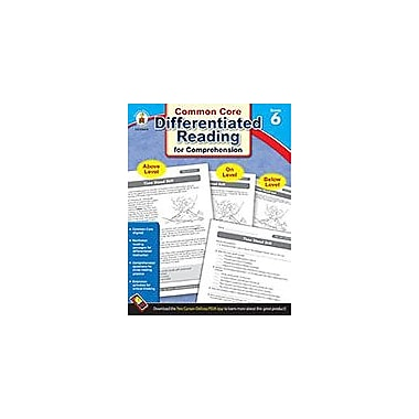 Carson-Dellosa Publishing Differentiated Reading For Comprehension, Grade 6 Workbook [eBook]