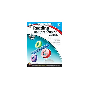 Carson-Dellosa Publishing Reading Comprehension And Skills, Grade 4 Workbook [eBook]
