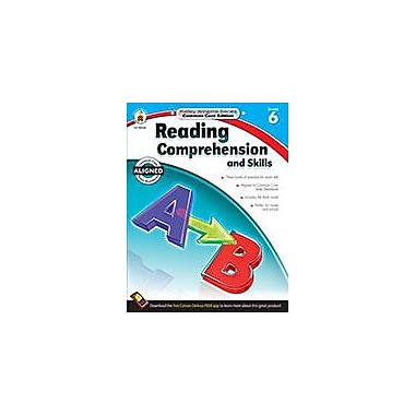 Carson-Dellosa Publishing Reading Comprehension And Skills, Grade 6 Workbook [eBook]