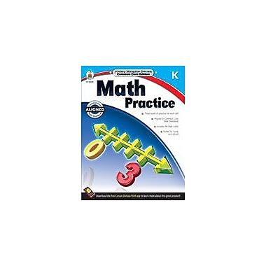 Carson-Dellosa Publishing Math Practice, Grade K Workbook, Kindergarten [eBook]