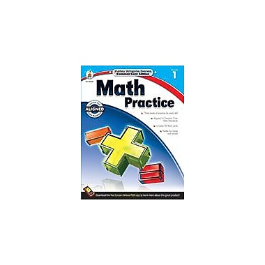 Carson-Dellosa Publishing Math Practice, Grade 1 Workbook [eBook]