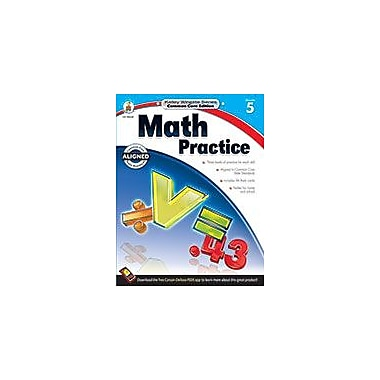 Carson-Dellosa Publishing Math Practice, Grade 5 Workbook [eBook]