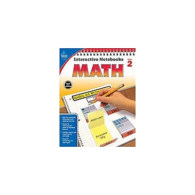 Carson-Dellosa Publishing Math, Grade 2 Workbook [eBook]