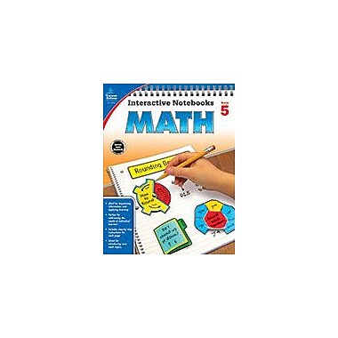 Carson-Dellosa Publishing Math, Grade 5 Workbook [eBook]