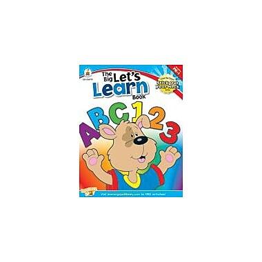 Carson-Dellosa Publishing The Big Let's Learn Book Workbook, Preschool - Grade 1 [eBook]
