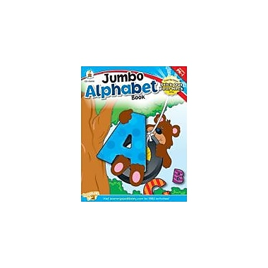Carson-Dellosa Publishing Jumbo Alphabet Book Workbook, Preschool - Grade 1 [eBook]