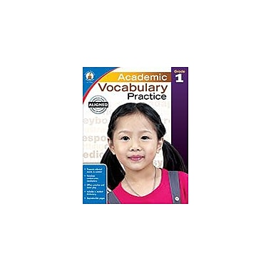 Carson-Dellosa Publishing Academic Vocabulary Practice, Grade 1 Workbook [eBook]