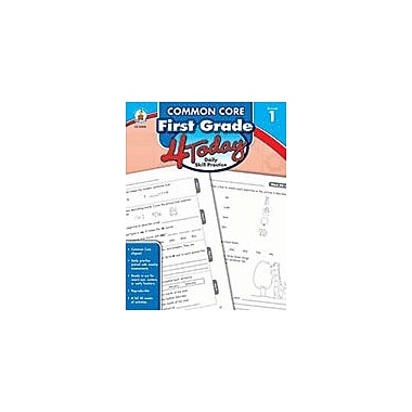 Carson-Dellosa Publishing Common Core First Grade 4 Today, Grade 1 Workbook [eBook]