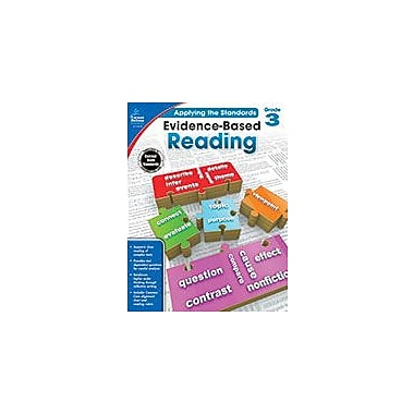 Carson-Dellosa Publishing Evidence-Based Reading, Grade 3 Workbook [eBook]